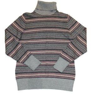L.L. Bean Cotton/Cashmere Turtleneck sweater S